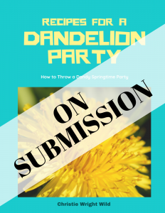 Recipes for a Dandelion Party
